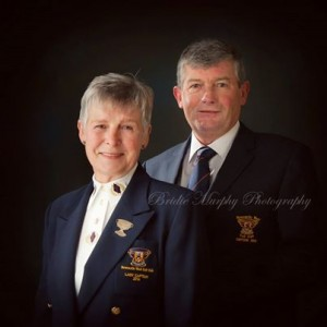 Frank Moore & Peg Murphy