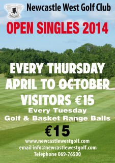 Open Singles NCW Golf Club