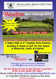 Westfest Open Challenge