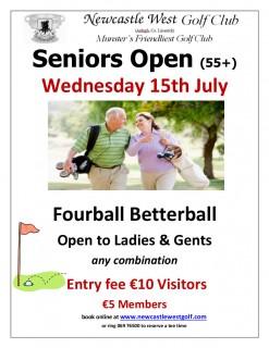 Seniors Open July