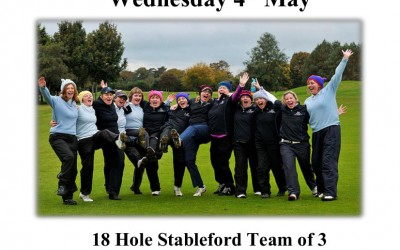 Ladies Open Day Wednesday 4th May