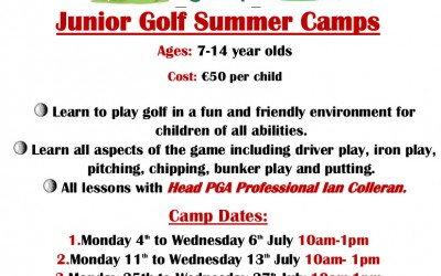 Junior Golf Summer Camps