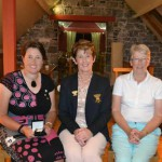 Deirdre, Lady Captain Irene and Mary Braddish