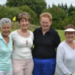 Joan Madigan,Ann O'Connor, Lady Captain and Margaret Coughlan