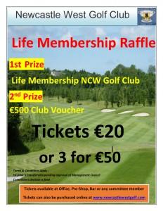 Life Membership Raffle_A