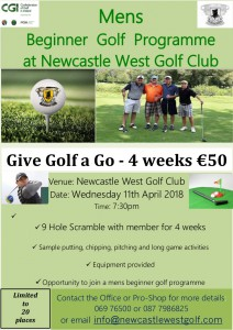 Mens Get Into Golf 2018