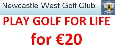 Life Membership Raffle – €20