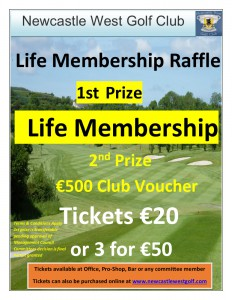 Life Membership Raffle_Poster