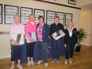 2nd prize Ann Leahy Bernie Moloney and Ann O'Connor