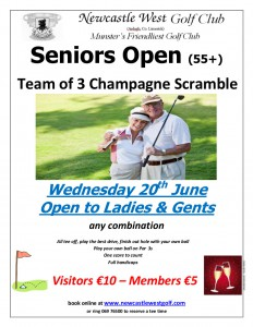 Seniors Open 55+ June 2018