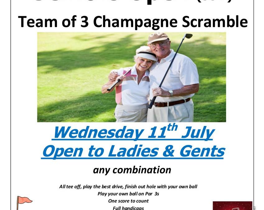 July Open Seniors