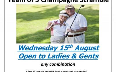 August Open Seniors