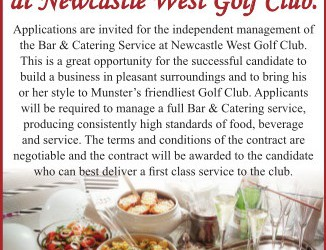 Bar & Catering Service Opportunity
