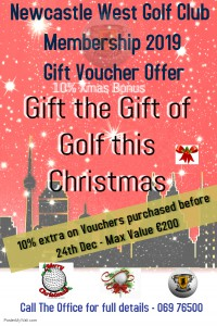 XMAS Membership Voucher Offer