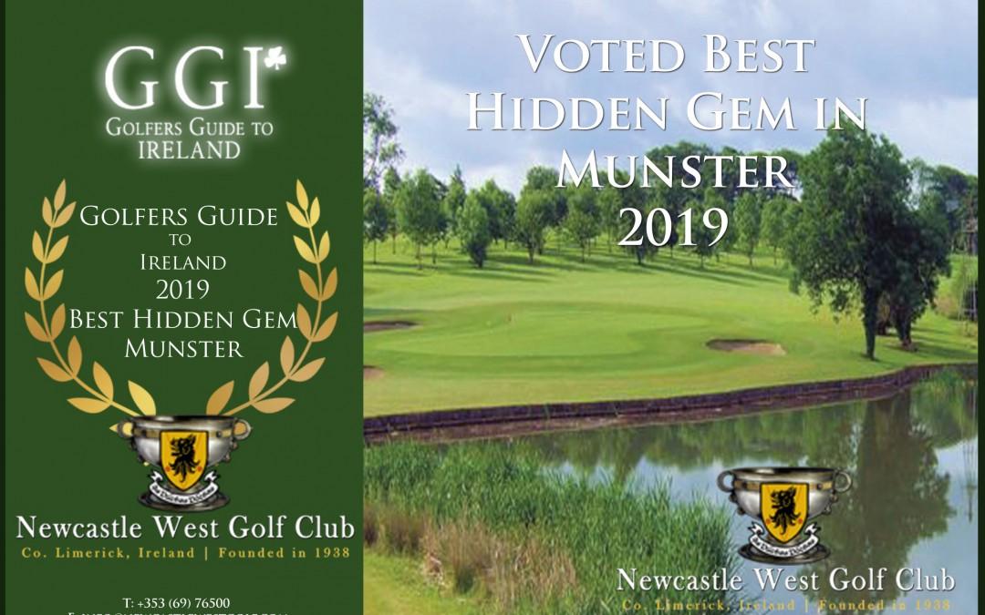 NCW Golf Club voted 'Best Hidden Gem in Munster'