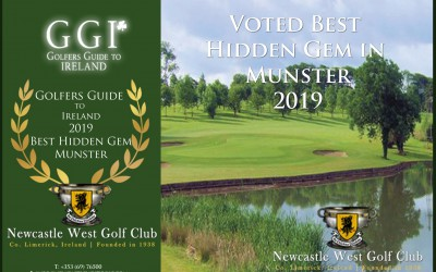 NCW Golf Club voted 'Best Hidden Gem in Munster'