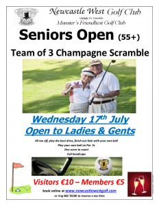 Seniors Open July 2019
