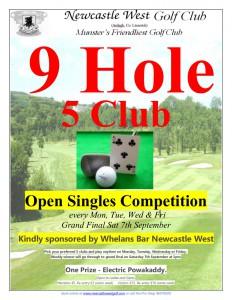 9Hole 5Club_Open Singles