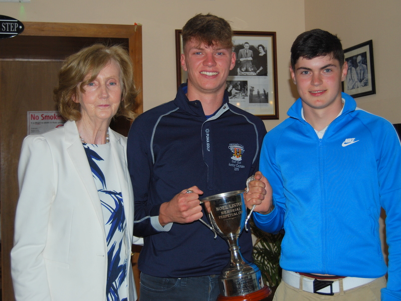 Junior Captain's Prize 2019